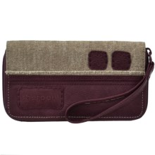 Sherpani Breeze Wristlet Wallet (For Women) in Rosewood - Closeouts