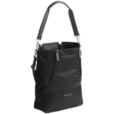 Sherpani Essentials Devyn Bucket Bag (For Women) in Raven - Closeouts