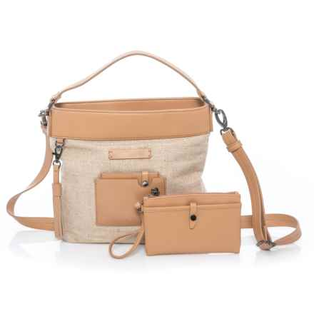 Sherpani Ethos Boheme Crossbody Bag - Removable Wristlet (For Women) in Vachetta - Closeouts