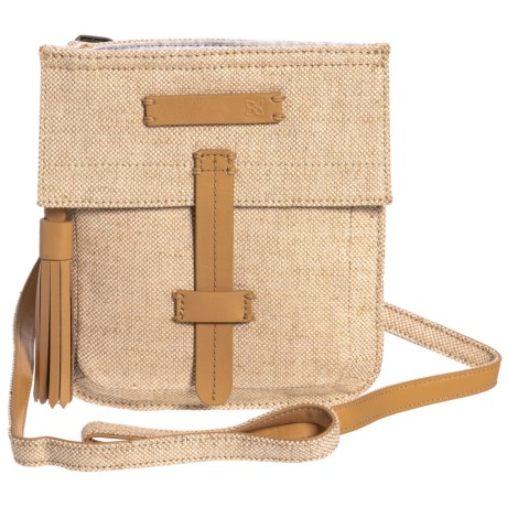 Sherpani Ethos Collection Vachetta Mini Crossbody Bag (For Women) in Vachetta