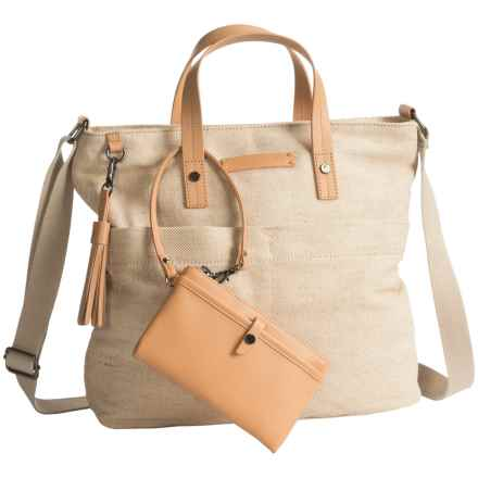 Sherpani Ethos Faith Satchel (For Women) in Vachetta - Closeouts