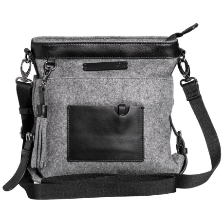 Sherpani Ethos Luna Crossbody Bag (For Women) in Slate
