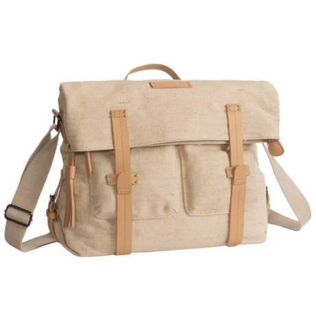 Sherpani Ethos Petra Messenger Bag (For Women) in Vachetta