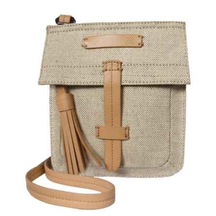 Sherpani Ethos Piper Mini Crossbody Bag (For Women) in Vachetta - Closeouts