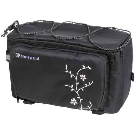 Sherpani Gira Rack Trunk Bag (For Women) in Black - Closeouts