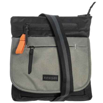 60dd5f45ef Sherpani Jag Medium Crossbody (For Women) in Flint/Raven - Overstock