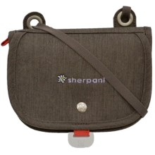 Sherpani Lindsay Crossbody Wallet (For Women) in Pebble - Closeouts