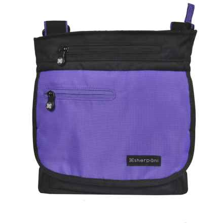 Sherpani Origins Jag RFID Crossbody Bag - Medium (For Women) in Purple - Closeouts