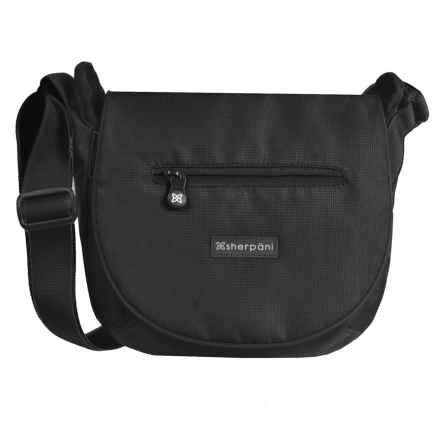 Sherpani Origins Milli Crossbody Messenger Bag - RFID Protected (For Women) in Black - Closeouts