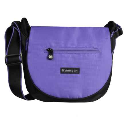 Sherpani Origins Milli Crossbody Messenger Bag - RFID Protected (For Women) in Purple - Closeouts