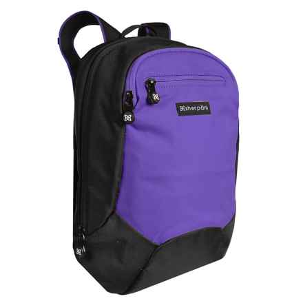 Sherpani Origins Nova Backpack with RFID Pocket (For Women) in Purple - Closeouts