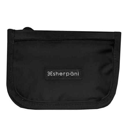 Sherpani Origins Zoe Crossbody Wallet (For Women) in Black - Closeouts