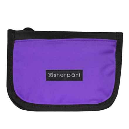 Sherpani Origins Zoe Crossbody Wallet (For Women) in Purple - Closeouts