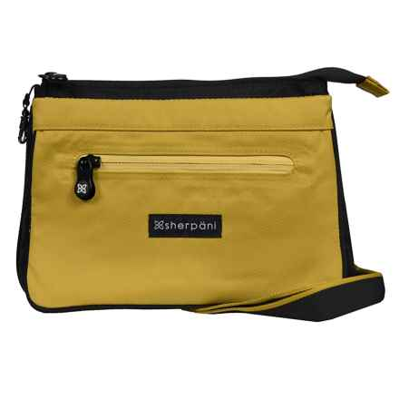 Sherpani Origins Zoom Travel/Urban Shoulder Bag (For Women) in Green Tea - Closeouts
