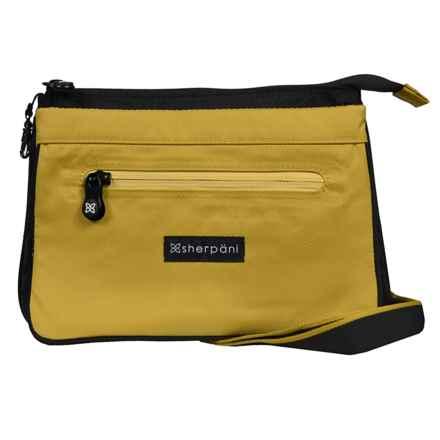 Sherpani Origins Zoom Travel/Urban Shoulder Bag (For Women) in Green Tea - Closeouts