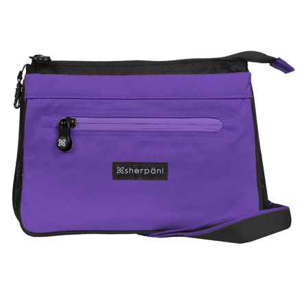 Sherpani Origins Zoom Travel/Urban Shoulder Bag (For Women) in Purple - Closeouts