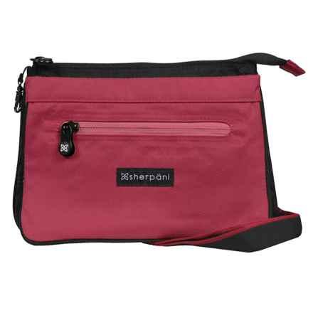 Sherpani Origins Zoom Travel/Urban Shoulder Bag (For Women) in Red - Closeouts