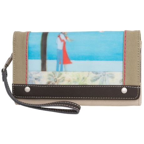 Sherpani Raven Wallet (For Women) in Never Let Go