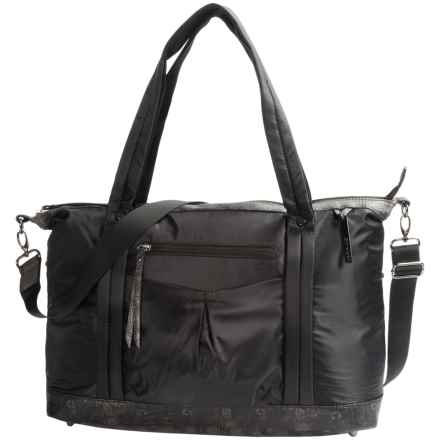 Sherpani Sportcore Madison Duffel Bag (For Women) in Black/Black Snake - Closeouts