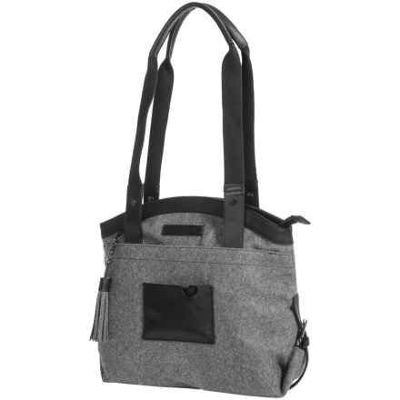 Sherpani Tiegan Shoulder Bag - Boiled Wool (For Women) in Slate - Closeouts