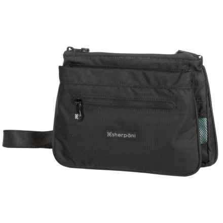 Sherpani Zoom Crossbody Bag - Recycled Materials (For Women) in Black - Closeouts
