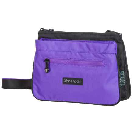 Sherpani Zoom Crossbody Bag - Recycled Materials (For Women) in Purple - Closeouts