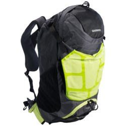 Shimano Accu-3D Hotaka Backpack - 32L in Electric Green