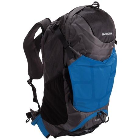 Shimano Accu-3D Hotaka Backpack - 32L in Lightning Blue