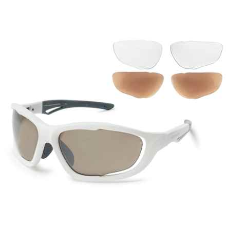 Shimano CE-S60X Sunglasses - Mirror Lenses, Extra Lenses in Bronze/Silver - Overstock