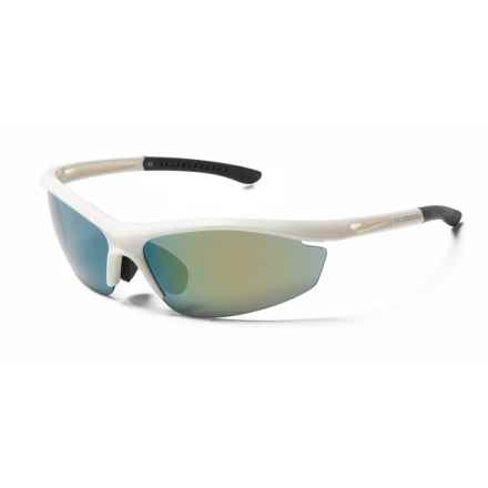 Shimano Cycling Eyewear CE-S20R Sunglasses - Extra Lenses in Metallic White/Black - Closeouts