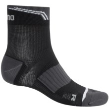 Shimano High-Performance Cycling Ankle Socks (For Men and Women) in Black - Closeouts