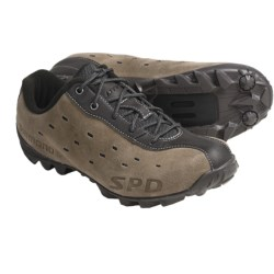 Shimano MT22 Cycling Shoes - SPD (For Men and Women) in Brown
