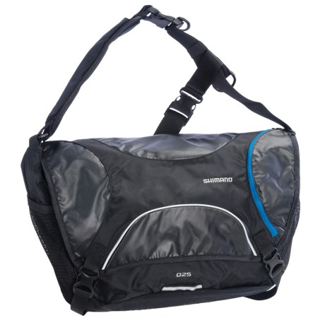 Shimano Osaka Messenger Bag - 25L in Lightning Blue