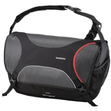 Shimano Osaka Messenger Bag - 35L in Black - Closeouts