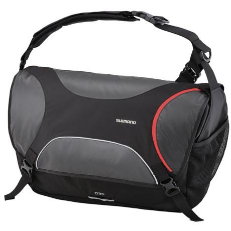Shimano Osaka Messenger Bag - 35L in Black