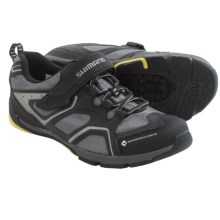 Shimano SH-CT70 Recreational Cycling Shoes - SPD (For Men) in Black - Closeouts
