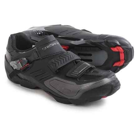 Shimano SH-M163 Mountain Bike Shoes - SPD (For Men and Women) in Black - Closeouts