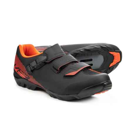 Shimano SH-ME3 Mountain Bike Shoes - SPD (For Men) in Black/Orange - Closeouts