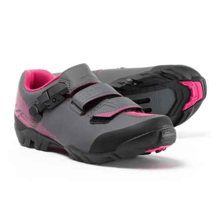 Shimano SH-ME3W Mountain Bike Shoes - SPD (For Women) in Black/Magenta - Closeouts