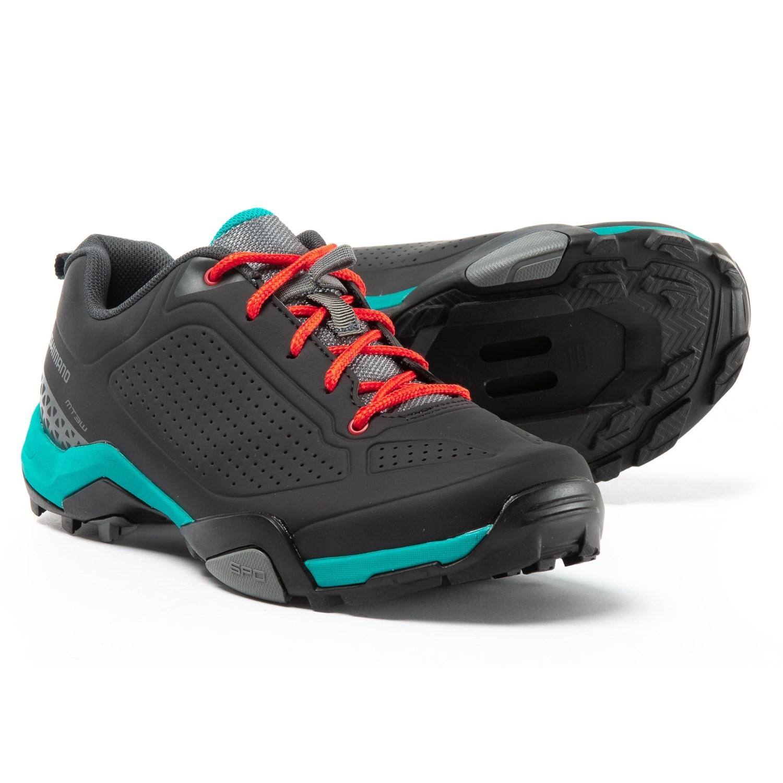 5e54f73f840 Shimano mountain bike shoes for women in black green jpg 1500x1500 Shimano  mountain bike shoes womens