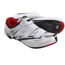 Shimano SH-R107W Road Cycling Shoes - SPD, 3-Hole (For Men) in White - Closeouts
