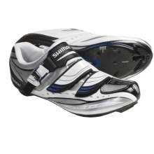 Shimano SH-R190 Road Cycling Shoes - 3-Hole (For Men and Women) in White - Closeouts