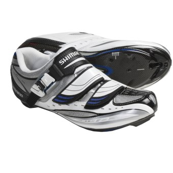 Shimano SH-R190 Road Cycling Shoes (For Men and Women) in White