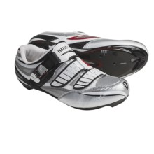 Shimano SH-R240 Road Cycling Shoes - 3-Hole (For Men) in White - Closeouts