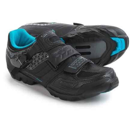 Shimano SH-WM64 Mountain Bike Shoes - SPD (For Women) in Black - Closeouts