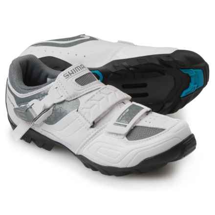 Shimano SH-WM64 Mountain Bike Shoes - SPD (For Women) in White - Closeouts