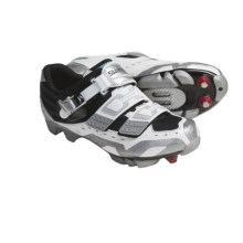 Shimano SH-WM81 Elite Mountain Bike Shoes (For Women) in White - Closeouts