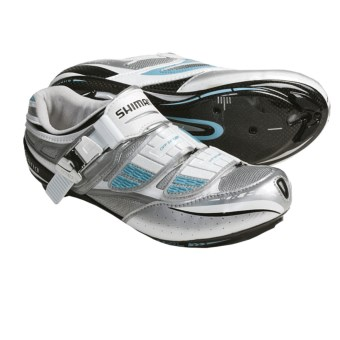 Shimano SH-WR81 Road Cycling Shoes (For Women) in White