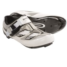 Shimano SH-WR82 Road Cycling Shoes - 3-Hole (For Women) in White - Closeouts