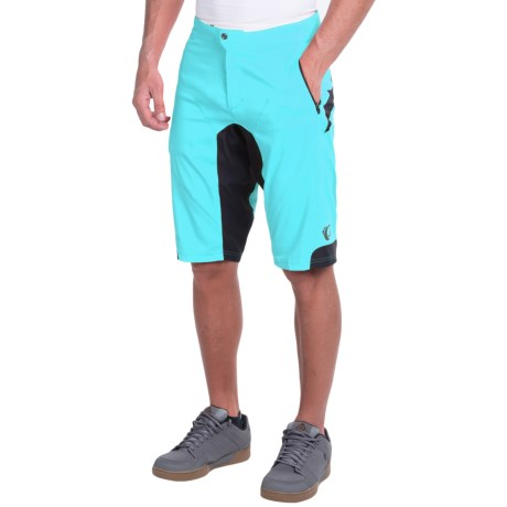 Shimano Summit Mountain Bike Shorts (For Men) in Blue Mist